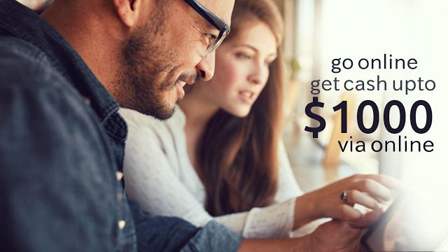 Go online and get cash up to $1000 within minutes.