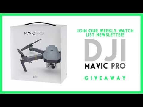 FREE DJI Mavic Pro (Drone) GIVEAWAY - 6 days left!