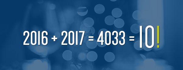 Nossa mensagem de Ano Novo para você.