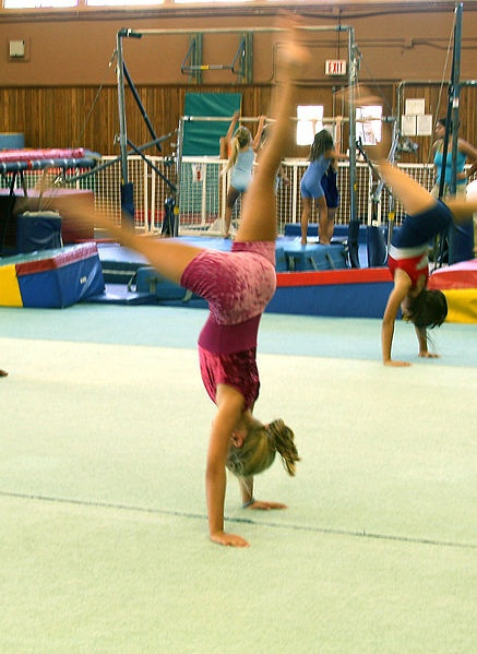 The benefits of gymnastics classes aren't just physical