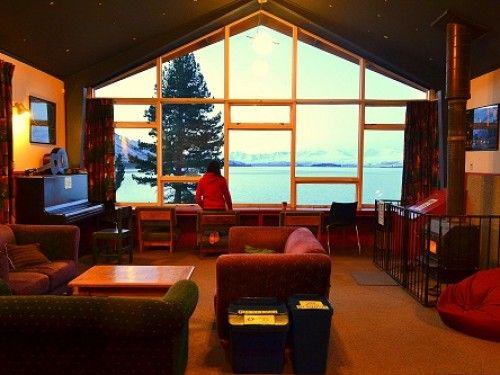 YHA-Lake-Tekapo, lounge around and enjoy 'La Vista'