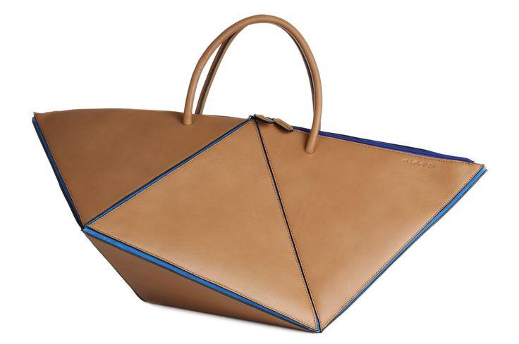 handbag-handtas - handmade - leder- leather- cuir- Belgium - www.awardt.be