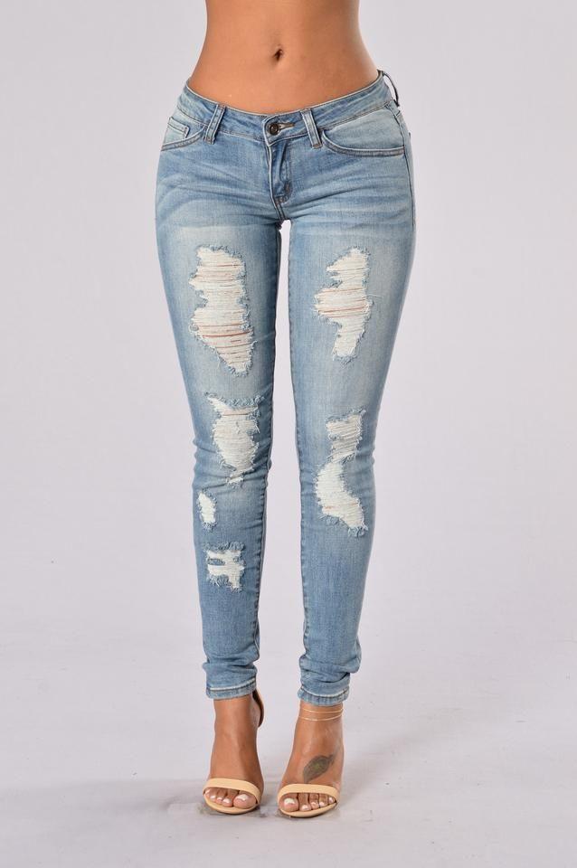 Disobedient Jeans - Medium Blue