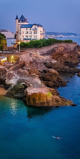 La Villa Belza, à Biarritz                              …                                                                                                                                                                                 Plus