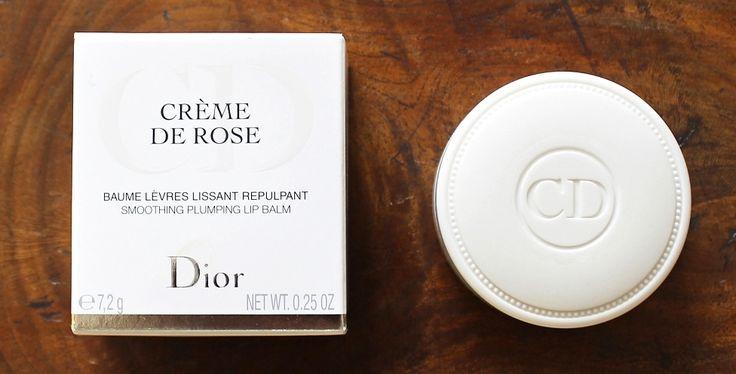 Dior 'Crème de Rose' Smoothing Plumping Lip Balm SPF 10