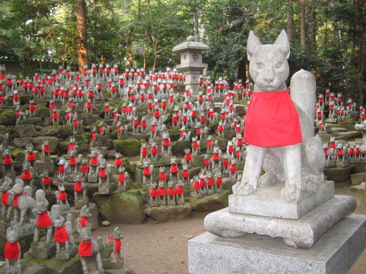 Toyokawa Inari Fox Shrine
