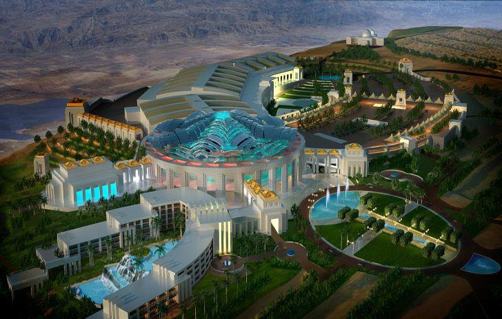 El Sultanato de Oman promociona su futuro Palacio de congresos en París.