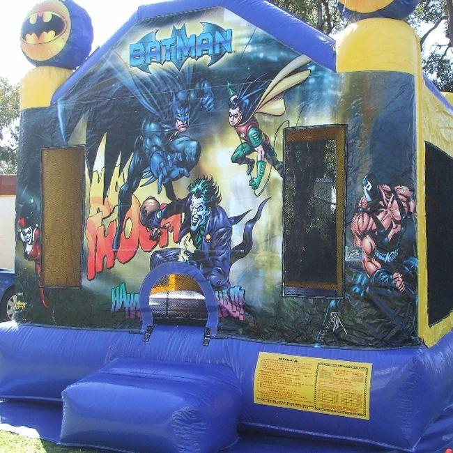 Batman Bouncy Castle Hire  #bouncy #castle #hire #inflatables #jumping #kids #toys