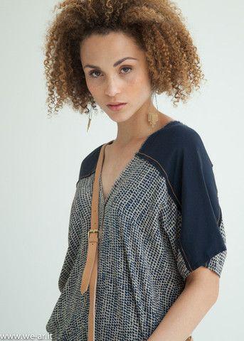 Kaftan Blouse   Sahara Silk Kaftan   wear - WE'AR
