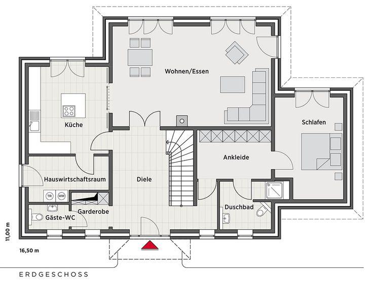 631 besten haus grundriss bilder auf pinterest grundrisse architektur und wohnen. Black Bedroom Furniture Sets. Home Design Ideas