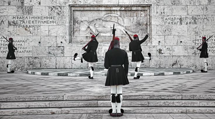 Tomb of the Unknown Soldier Athens Greece View on black background !!!!  Thank you for visiting and commenting My best regards from Rhodes !!!!  © Copyright: The reproduction, publication, modification, transmission or exploitation of any work contained herein for any use, personal or commercial, without my prior written permission is strictly prohibited.