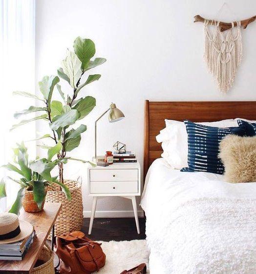 Je veux des plantes dans ma chambre cosy parfaite folk bohème