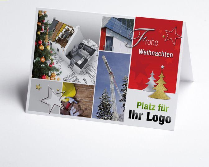 Foto-Branchenkarte mit Logofeld für den Hausbau z.B. Architekt, Solar, Holzbau. Ihr Firmenlogo steht prominent auf der Vorderseite http://www.weihnachtskarten-plus.de/logo-weihnachtskarten/branchenkarten/836-artnr-150215-b-logo-branchenkarte-hausbau.html