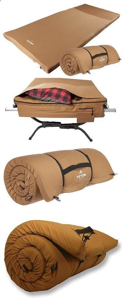 Camping Cot - Mattresses and Pads 36114: New And Sealed! Teton Sports Outfitter Xxl Camp Cot Pad (82 X 38 X 2.5 , 9 Lbs) -> BUY IT NOW ONLY: $101.78 on eBay! #CampingCot