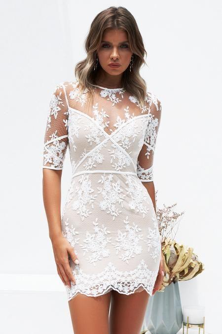 10eba0a7a3 Jessica 2.0 Dress (White)