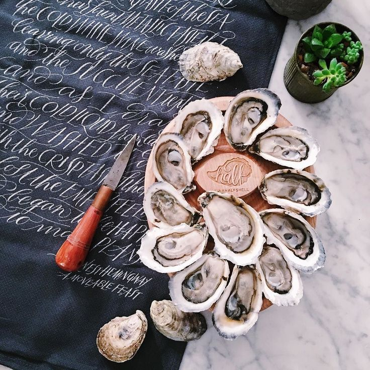 """Alright people I want to see your best #NationalOysterDay find. Tag me in your oyster madness tomorrow. That includes shuckers raw bars restaurants and farmers. Winner gets a #33Oyster journal and a place on my """"Best of National Oyster Day"""" post. Here we go! #eeeeeats #nomnom #eatfamous #oyster #shellfish #seafood #happyoysterday #oysterday xoxo INAHALFSHELL.COM"""