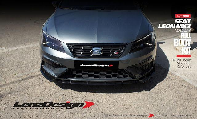 Seat Leon Mk3 5f Lenzdesign Bodykit Spoilers 2012 2013 2014 2015 2016 2017 2018 2019 Seat Leon Comfy Leather Chair Leon