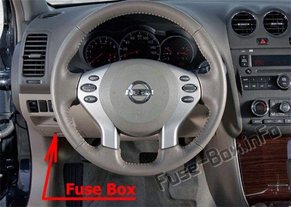 Fuse Box Diagram Nissan Altima L32 2007 2013 Altima Nissan Altima Fuse Box