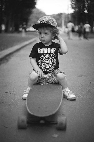 SO CUTE. Cant wait for noah to get his skateboard