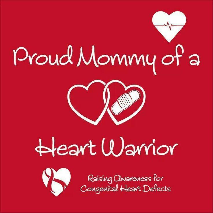 I am a heart mom too! So I guess I shall copy