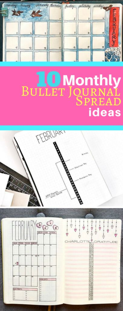 Need inspiration for your monthly spreads? These 10 bullet journalists have you covered! Stay motivated with these creative spread ideas this year!