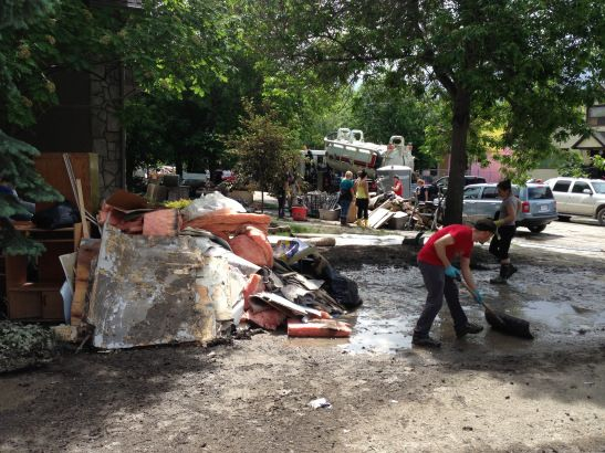 After the flood: What Sunnyhill needs, Wednesday, June 27 -- mega-volunteer effort (yycflood blog post)