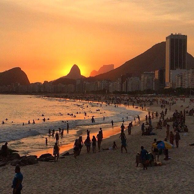 Leme Beach | Rio de Janeiro, Brazil
