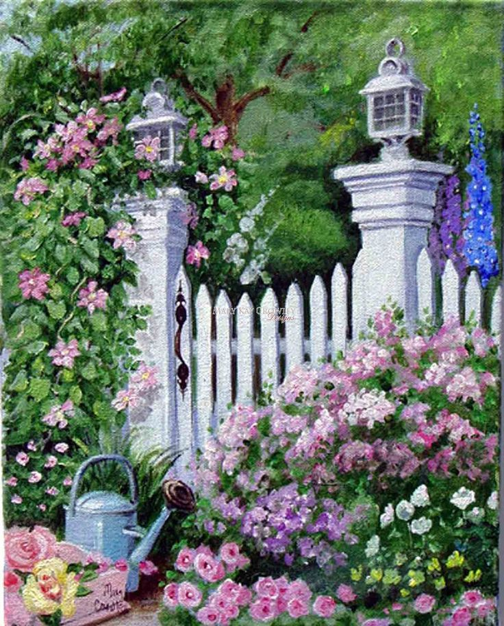 'Garden Gate' by Mary Kay Crowley
