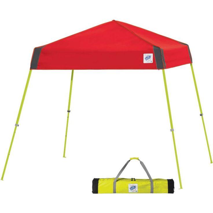 E-Z UP 8' x 8' Vista Sport Instant Canopy, Red