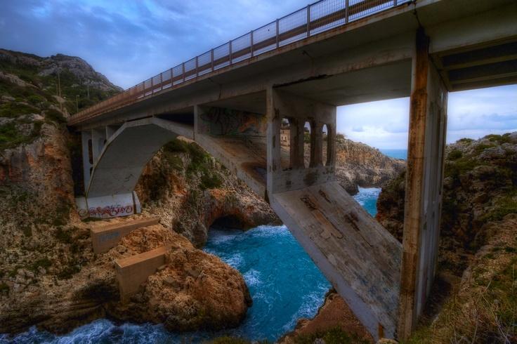 Ciolo Bridge in Italy