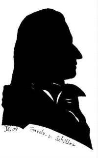 Schattenbilder Friedr V Schiller Shop Scherenschnittstudio Dutz Human Silhouette Silhouette Portrait