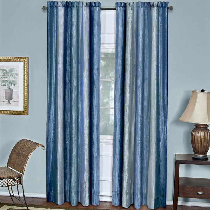Achim Ombre Curtain Panel from hayneedlecom