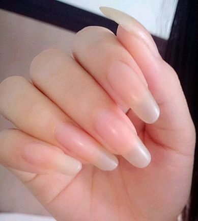 51 best Natural Nails images on Pinterest | Long natural nails ...