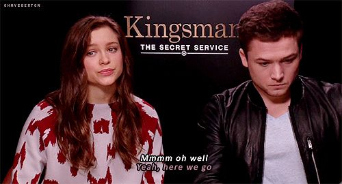 Exclusive Colin Firth Taron Egerton And Sophie Cookson: 1000+ Images About Taron Egerton On Pinterest