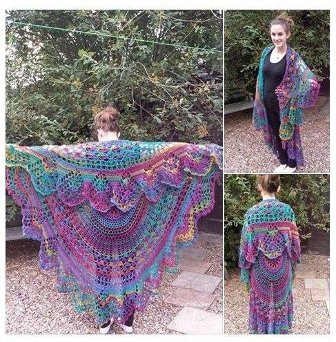 Bohemian Poncho Free Crochet Pattern : Crochet Bohemian Vest Stevie Nicks style. Crochet pattern ...