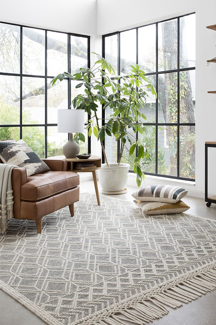 Inspirational Matching Rug and Pillows