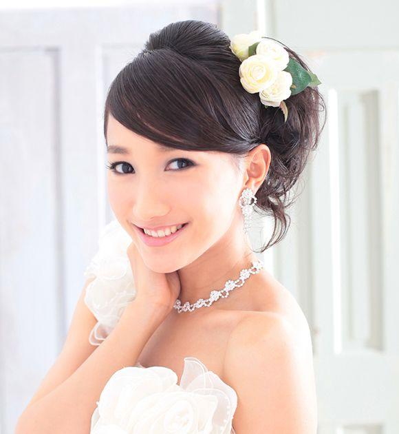 タレ目メイクでかわいらいく♡結婚式の花嫁のおすすめアイメイク♡参考にしたいウェディング・ブライダル♡