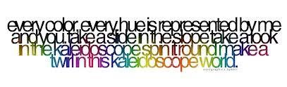 kaleidoscope quote #ShiptoShore