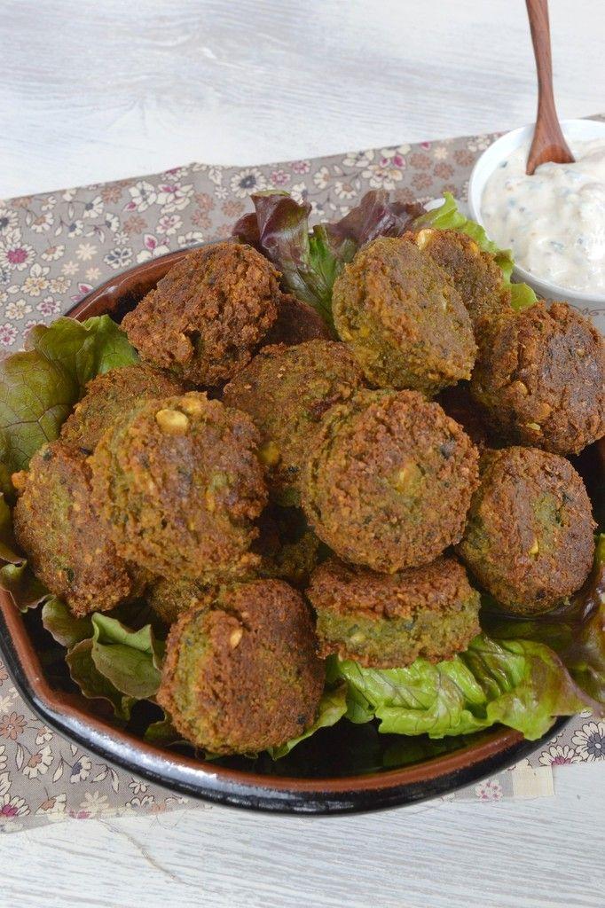Falafels {recette végétalienne} - Battle Food 21 - La cuisine d'Anna et Olivia