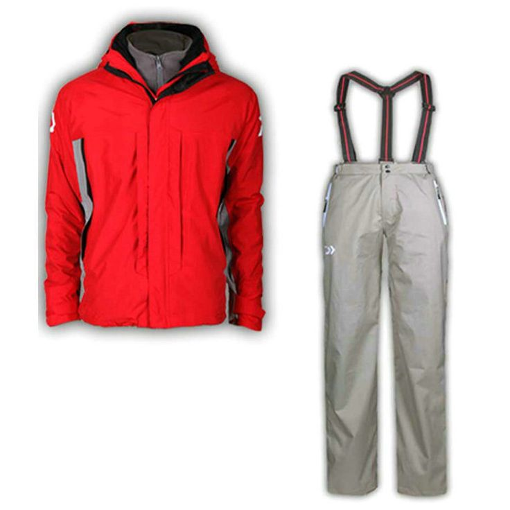 The new DAIWA winter fishing clothes catch velvet liner waterproof breathable two sets of fishing suit  free shipping!