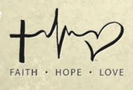 Bildresultat för faith hope love symbol tattoo