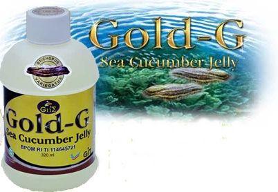Obat Stroke Alami: Jelly Gamat Gold G