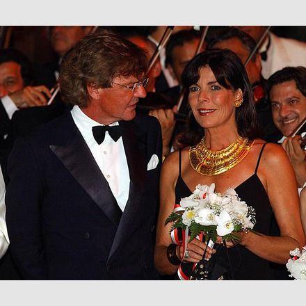 Caroline mit Prinz Ernst August von Hannover