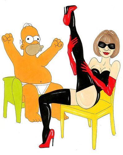 Гомер Симпсон и Высокая мода