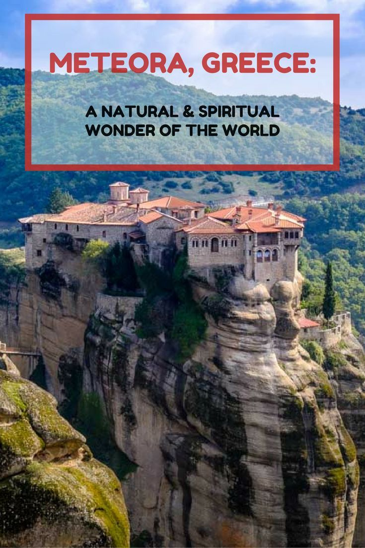 Why is Meteora in Greece a Magic Place? Click here to find out more!