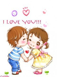 Love Kiss Wallpaper cartoon : 121 best images about I Love You on Pinterest