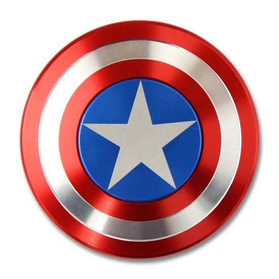 Fidget Spinner - Hand Spinner - Captain America