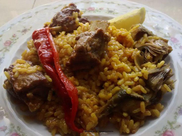 arroz con costilla de cerdo