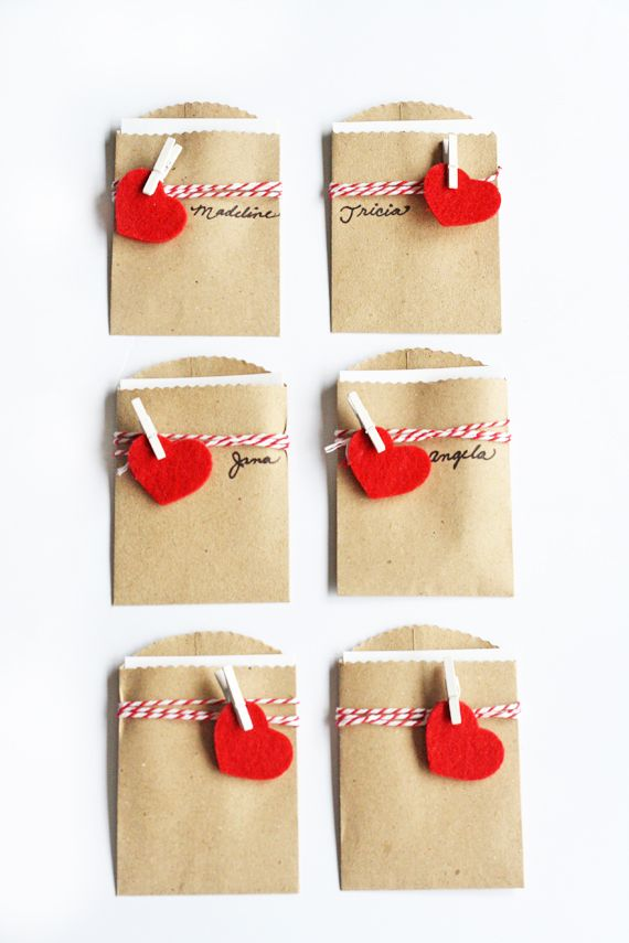 Make: Mini Package Valentines | In Honor Of Design