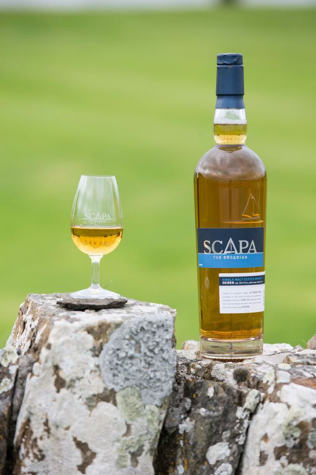 The newest expression at Scapa Distillery is a tropical and honeyed offering, which embodies Orkney's unpredictable nature.